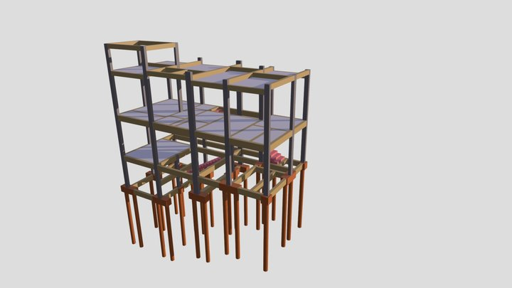 DITO E GINA 3D Model