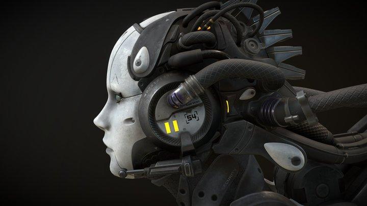 Starcraft II Adjutant 3D Model