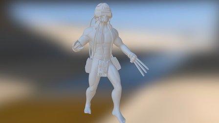 Weapon X 3D Model