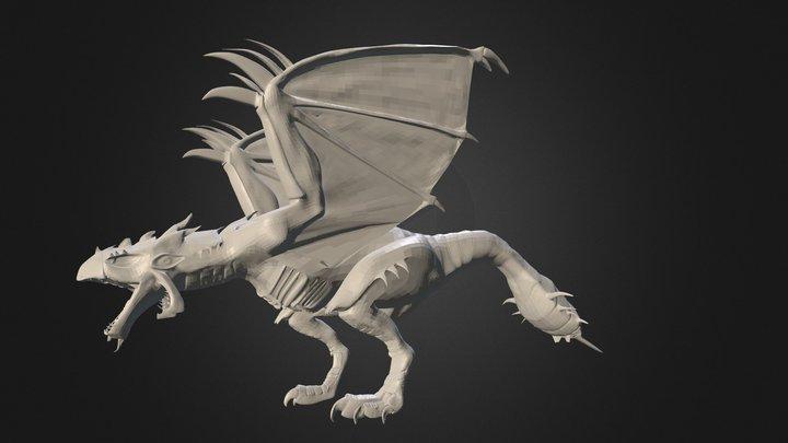 Rathalos v.2 3D Model