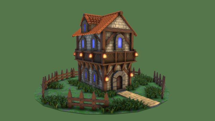 Fantasy house. 3D Model