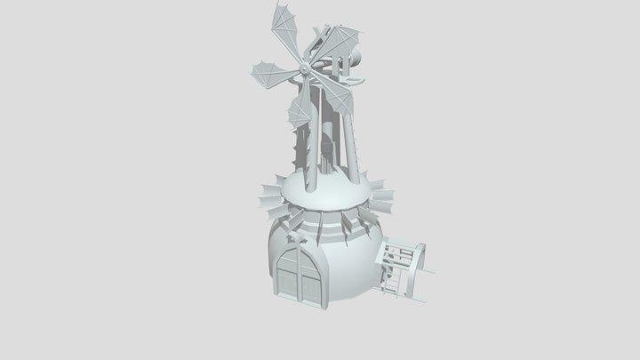 Ventoinha 3D Model