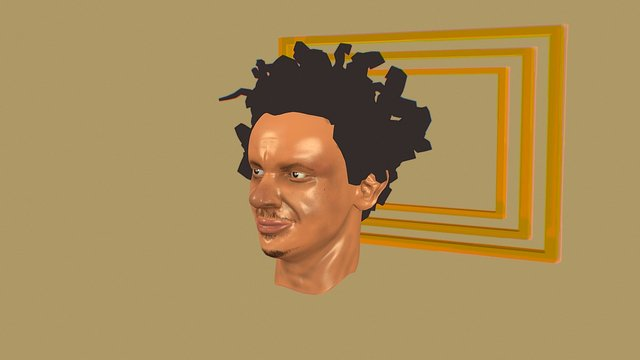 Eric Andre 3D Model