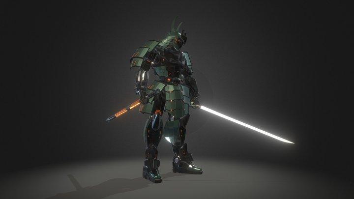 Samurai Robot RTS-02 3D Model