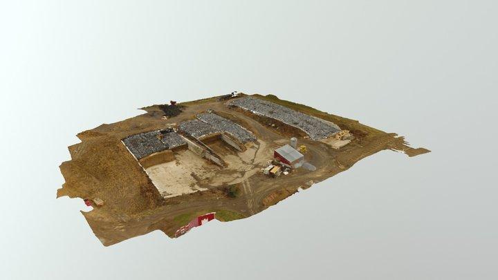 Farm 3D Model 3D Model
