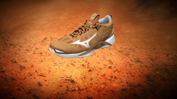 Mizuno | Wave Momentum 3D Model