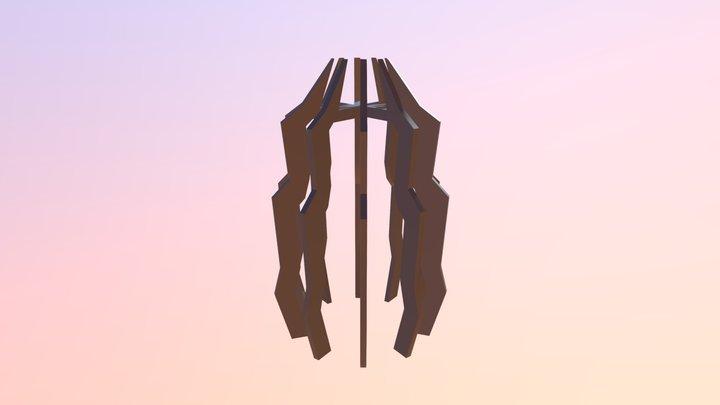 Slat Mountain 3D Model