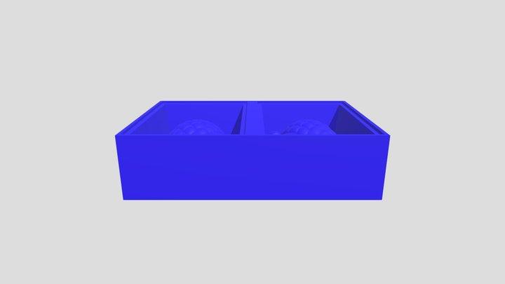 Pine Cone Mold. Week 11. Fab Academy 3D Model
