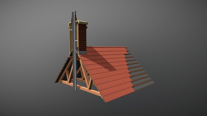 Chimney Flue 3d Model 3D Model