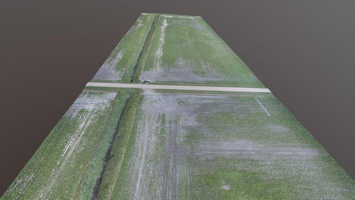 Ditches 3D Model