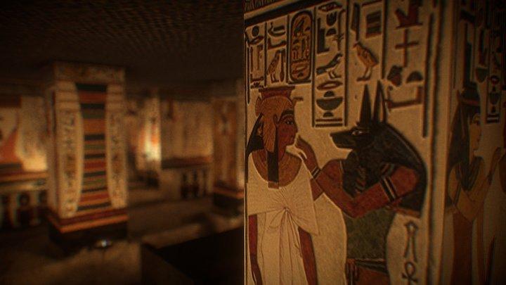 The tomb of Nefertari: 3d vr1 (LOW-res / v0-30) 3D Model