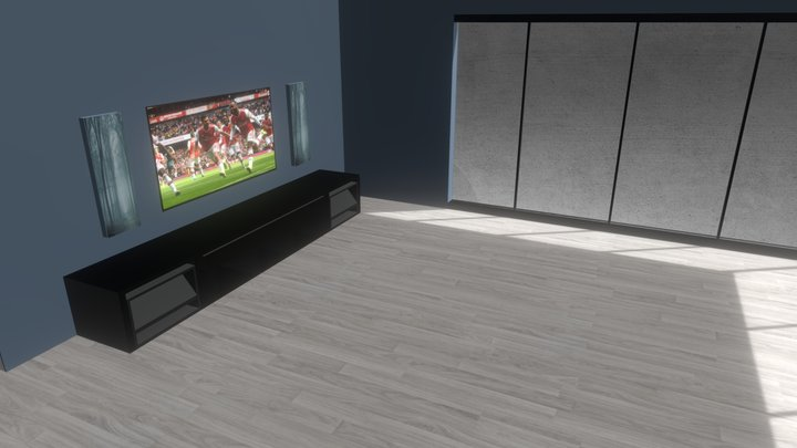 Stue(2) 3D Model