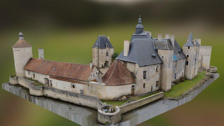 Château de Bannegon 3D Model