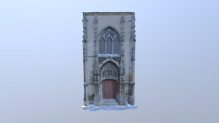 Façade occidentale Eglise St Germain Amiens 3D Model