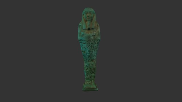 Faience Shabti, Egypt 3D Model