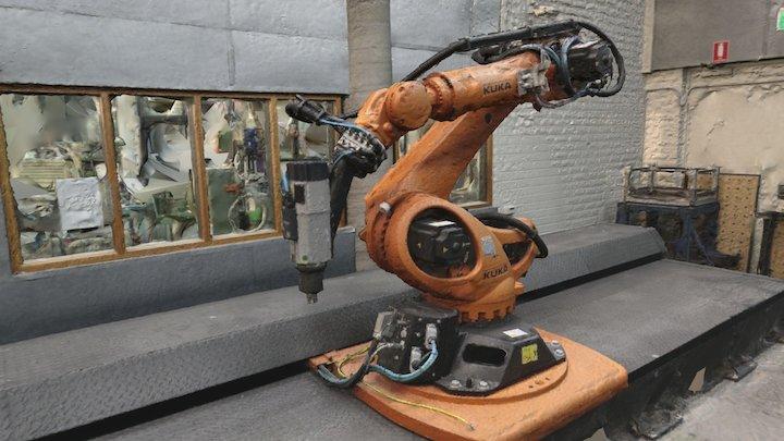 Robot Room Wilkinson Building USYD 3D Model