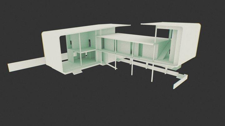 Valle Arriba 3D Model
