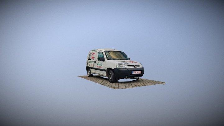Djo Car 3D Model