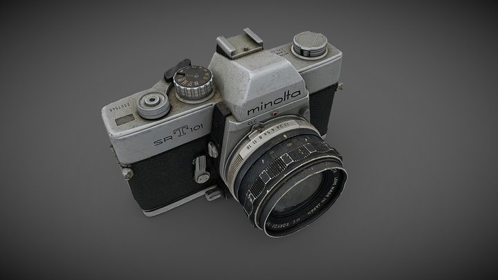 Minolta SR-T 101 (Photogrammetry) 3D Model