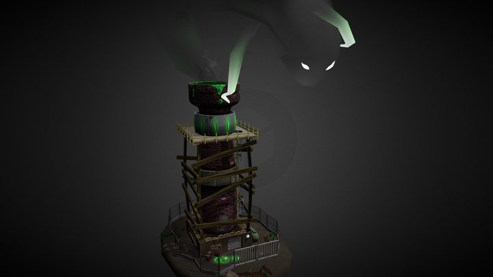 The Tower Guardian 3D Model