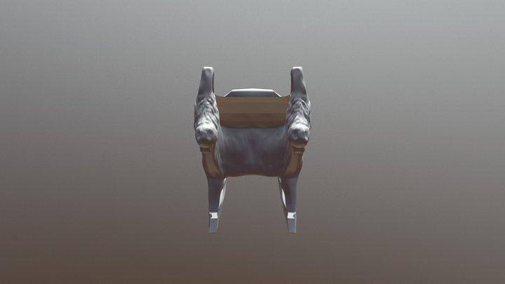 SculptJan 18 day 23 furniture 3D Model