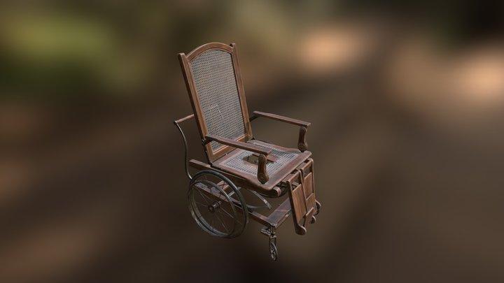 Wheel_Chair 3D Model