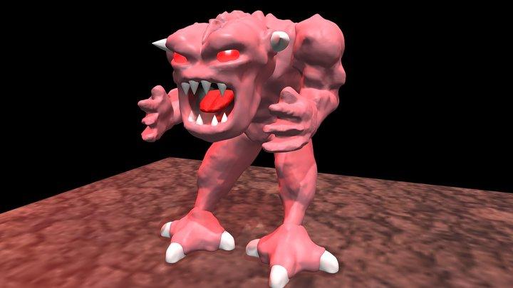 Pinky 3D Model