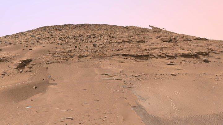 Kimberley outcrop (Mars) 3D Model