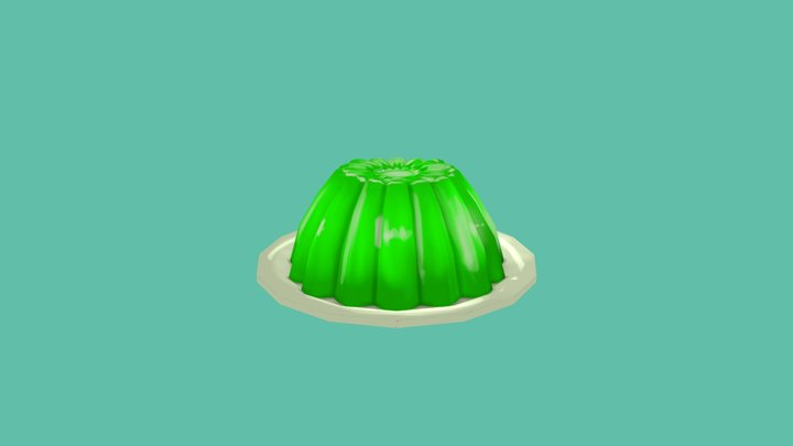 Lime Gelatine 3D Model