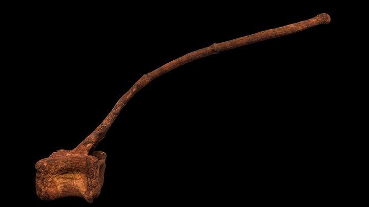 Ca41 - Spinosaurus aegyptiacus neotype 3D Model