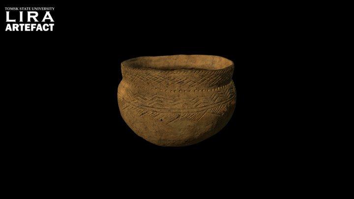 Ceramic pot // Керамический сосуд 3D Model