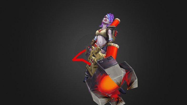 Infernals - Beatrix 3D Model