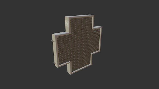 Griega 110 Color 3D Model