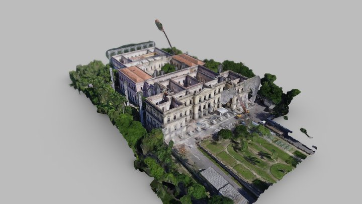 Museu Nacional Works in Progress 3D Model