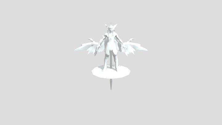 Adagio Skin Angel 3D Model