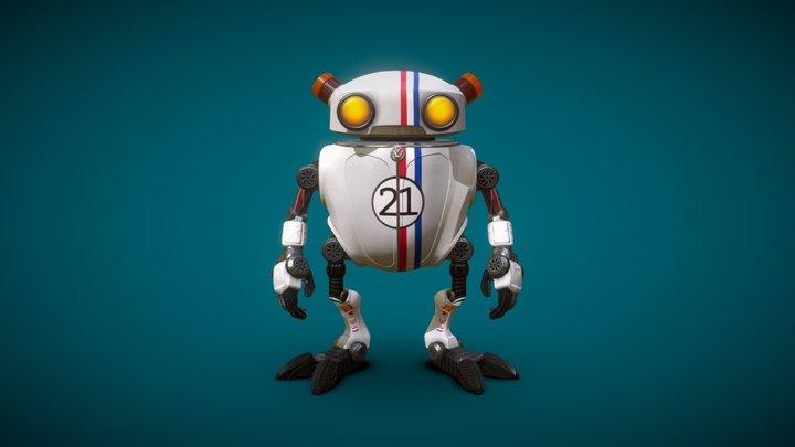 Eddie race car 3D Model