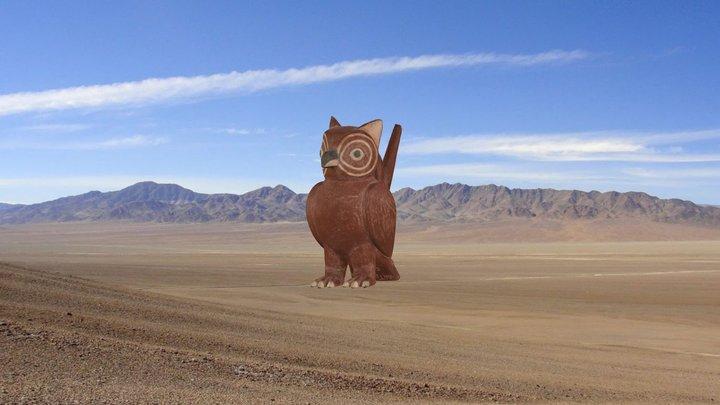 Cerámica ornitomorfa Moche, Perú (200 - 700 d.C) 3D Model