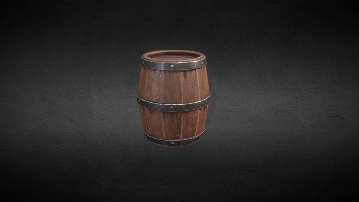 Barrel Test 3D Model