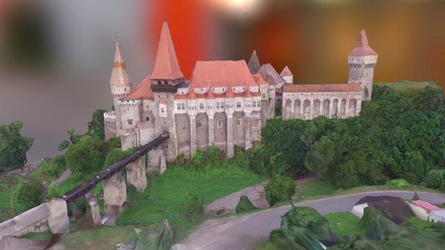 Castel Hunedoara 3D Model