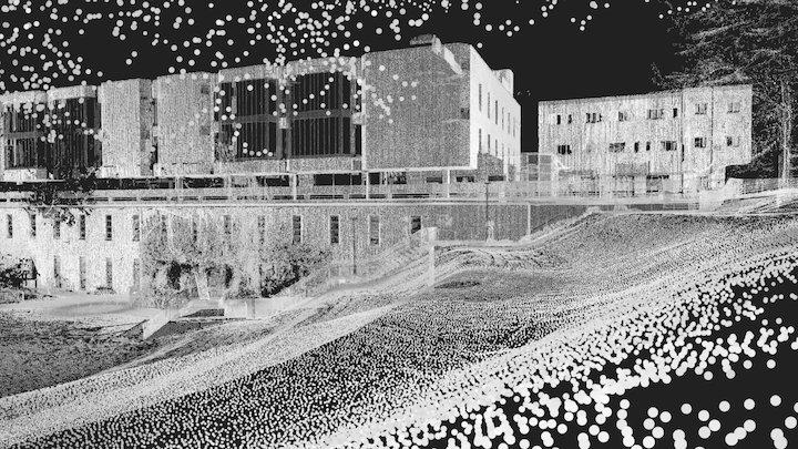 "The ""amphitheater"" at University of Bradford 3D Model"