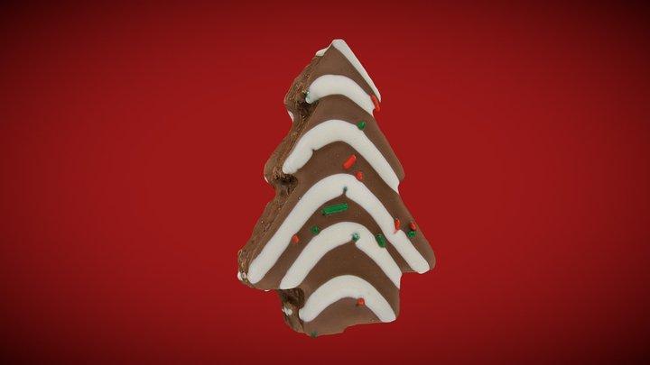 Little Debbie Christmas Tree Cake (Hi-Res) 3D Model