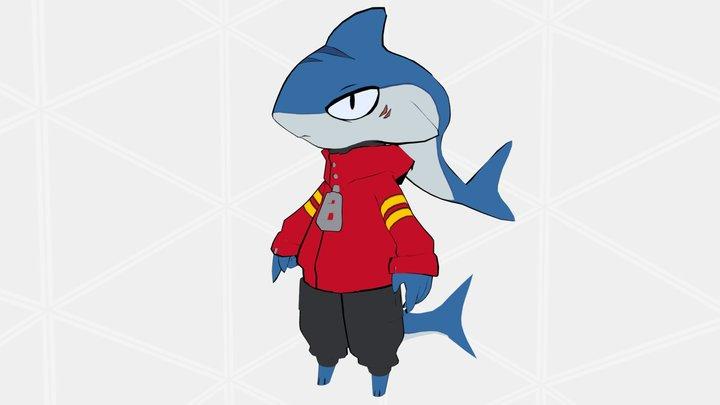 Shark - by d_floe 3D Model
