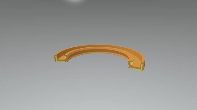 TCF-1 3D Model