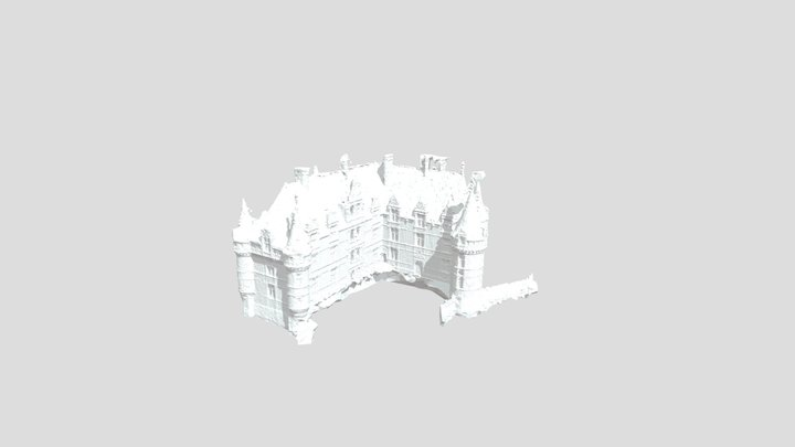 Chateau de Azay le Rideau (Quick) 3D Model