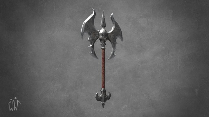 Medieval axe 3D Model