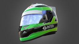 Nico Hulkenburg F1 Helmet 3D Model