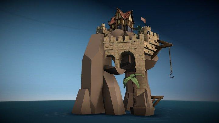 Shipwright Island 3D Model