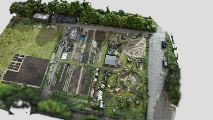 Platt Fields Market Garden 3D Model