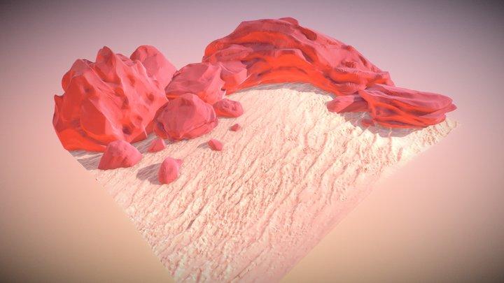 Desert - SculptJanuary2018 - Day 4 3D Model