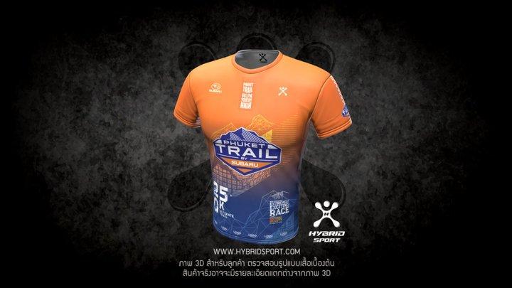 Phuket Trail - Orange 3D Model